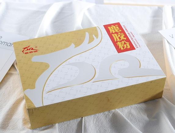 鹿胶粉大白盒